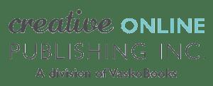 Logo for Creative Online Publishing Inc, a Division of VaskoBooks.