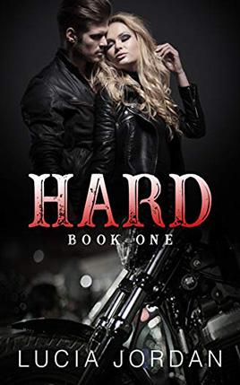Hard by author Lucia Jordan. Book One cover.