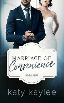 Marriage of Convenience by author Katy Kaylee. Book One cover.