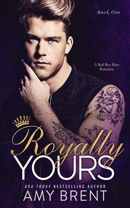 Royally Yours by author Amy Brent. Book One cover.