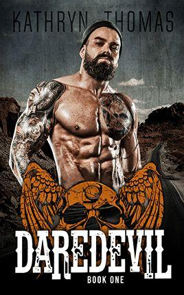 Daredevil by author Kathryn Thomas. Book One cover.