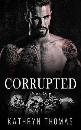 Corrupted by author Kathryn Thomas. Book One cover.
