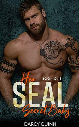 Her SEAL Secret Baby by author Darcy Quinn. Book One cover.