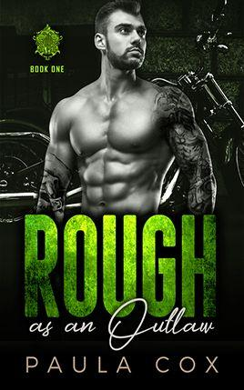 Rough as an Outlaw by author Paula Cox. Book One cover.