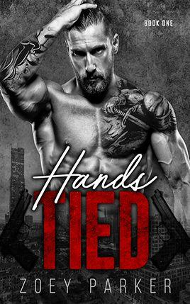 Hands Tied by author Zoey Parker. Book One cover.