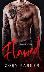 Flawed by author Zoey Parker. Book One cover.
