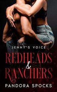 Jenny's Voice by author Pandora Spocks. Book One cover.