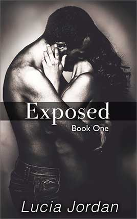 Exposed by author Lucia Jordan. Book One cover.