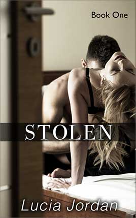 Stolen by author Lucia Jordan. Book One cover.